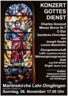 08 Sonder XB3 Konzertgottesdienst Gounod 2015 wR